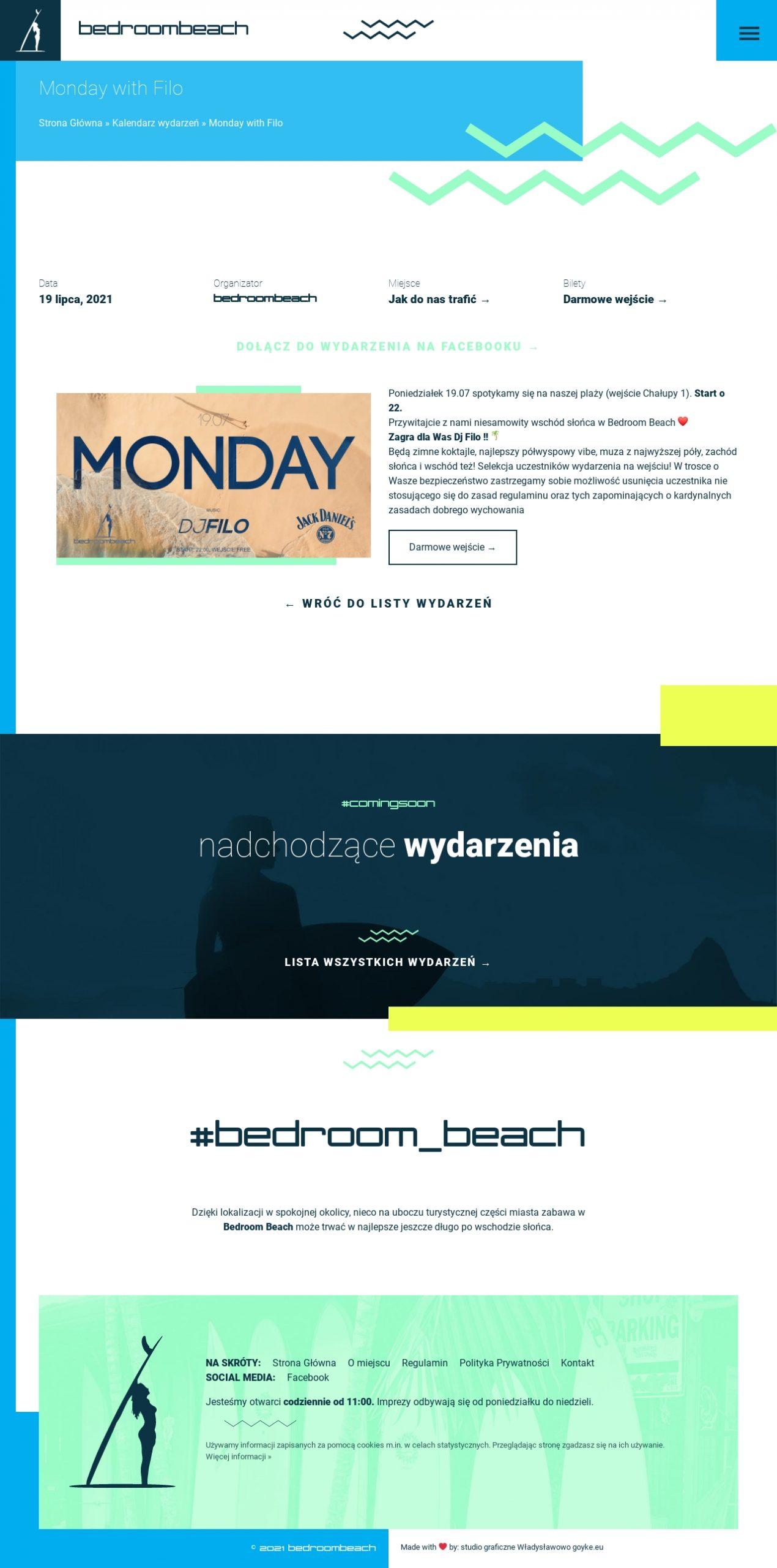 bedroom beach strona www